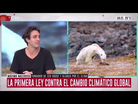 Eco House en C5N – Logro Juventud – Ley Nacional de Cambio Climático