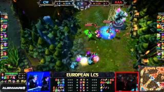 Copenhagen Wolves vs Against All Authority LCS 2013 EU Spring W4D1 FULL GAME