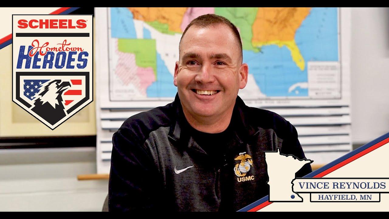 SCHEELS Hometown Heroes Vince Reynolds