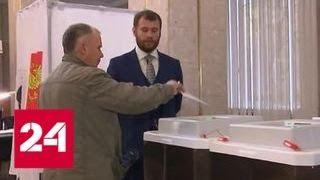 На губернаторских выборах в Хабаровском крае проголосовали уже почти 35% избирателей - Россия 24