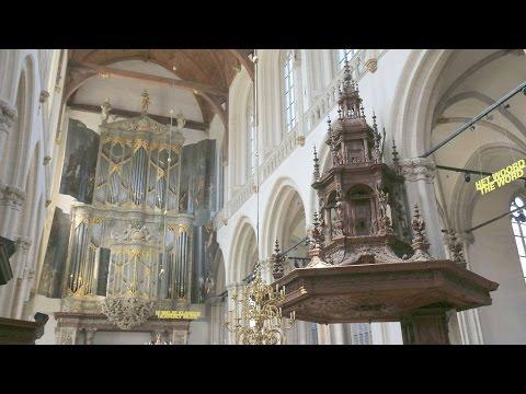JP SWEELINCK - Ballo del Granduca - orgue historique de la Nieuwe Kerk (Amsterdam)