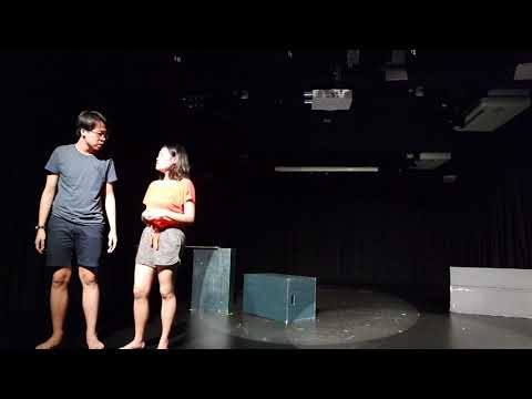 Marcus and Hannah - Forum Theatre Performance by DADP 01 2018
