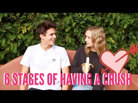 6 Stages of Having a Crush   Brent Rivera