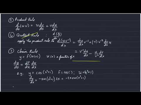OCN/GG312: Limits and Derivatives II