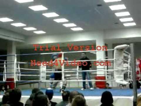 1º combate ander berdote kickboxer...