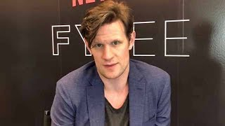 Matt Smith ('The Crown') chats playing complex Prince Philip kneeling before Queen Elizabeth