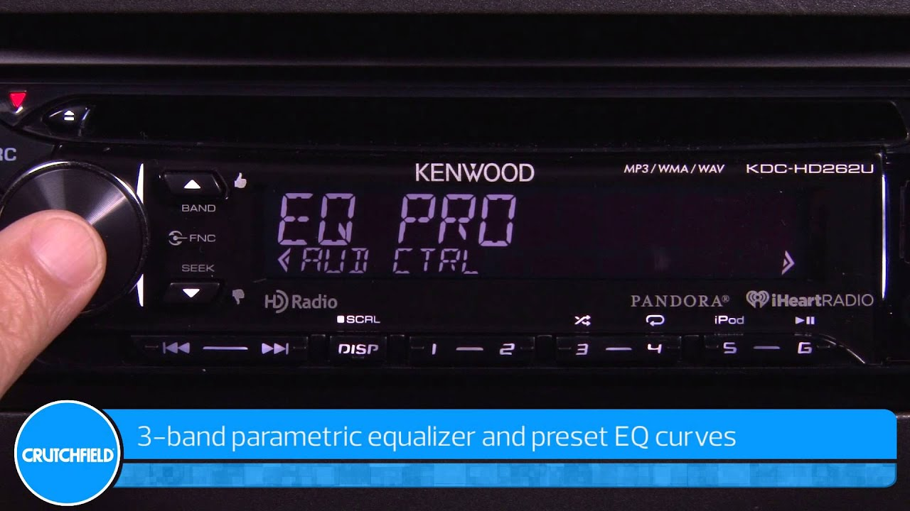 Kenwood Kdc Hd262u Display And Controls Demo Crutchfield Video Wiring Diagram