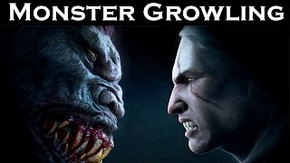 Monster Growling Sound Effects | Hi Audio Quality