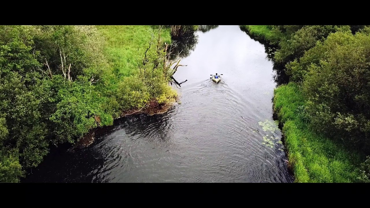 PACKRAFTING IN THE LAKE DISTRICT, UK- IRON RAFT SELF BUILD PACKRAFT