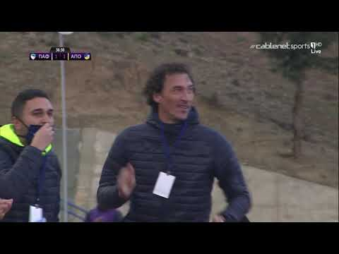 Paphos APOEL Goals And Highlights