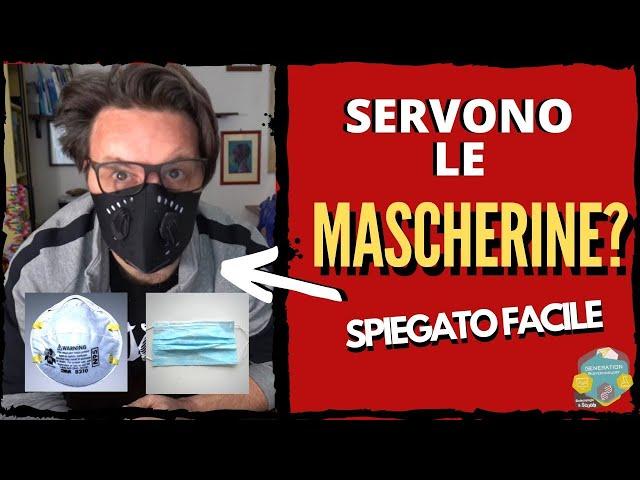 Servono le mascherine?// Spiegato facile