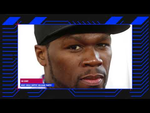50 Cent Host Child Support Release Party, Son's Furious!