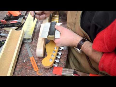 Building a Strat Neck Luthier Build Process Part 1