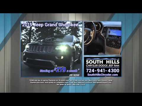South Hills Chrysler Dodge Jeep RAM October Jeep Grand Cherokee Offer