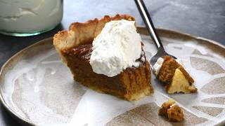 Pumpkin Pie Recipe- Add A Pinch