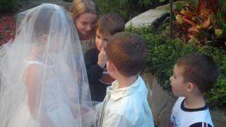 Repeat youtube video lil kids wedding (cute!)