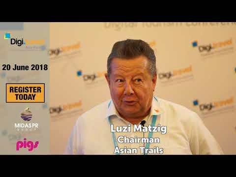 3rd Digi.travel Asia-Pacific Conference & Expo - 20 June 2018 - Testimonial #1 - Luzi Matzig