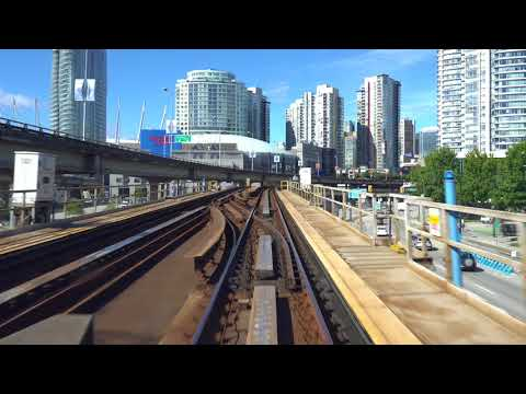 Vancouver SkyTrain: Expo Line Westbound Pt. 3, Commercial to Waterfront - The Complete Ride 4K