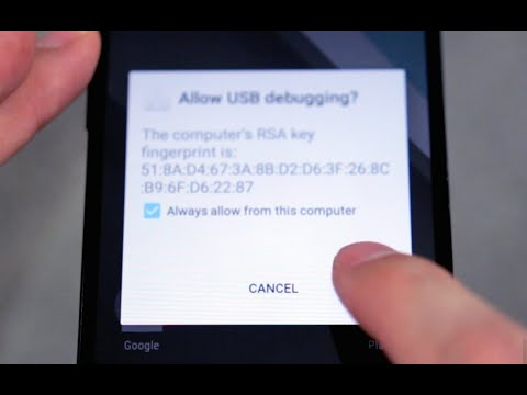 How to Enable USB Debugging on an Android Device