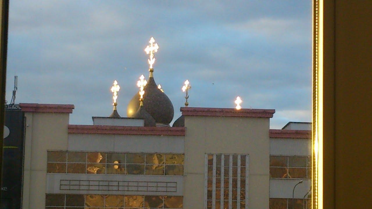 Ураган в Москве 29 мая 2017 г. Святой Сергий Радонежский не допустил жертв рядом с Храмом в ЮВАО