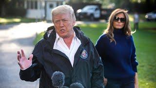 Donald Trump calls Las Vegas gunman 'demented'