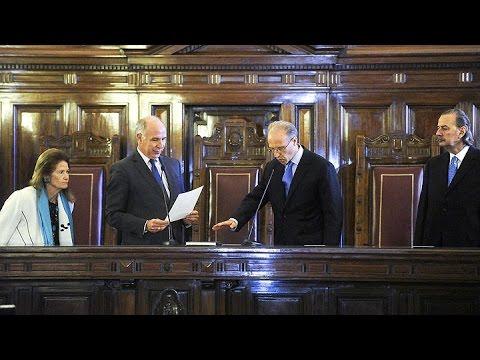 Carlos Rosenkrantz juró como nuevo integrante de la Corte Suprema de Justicia