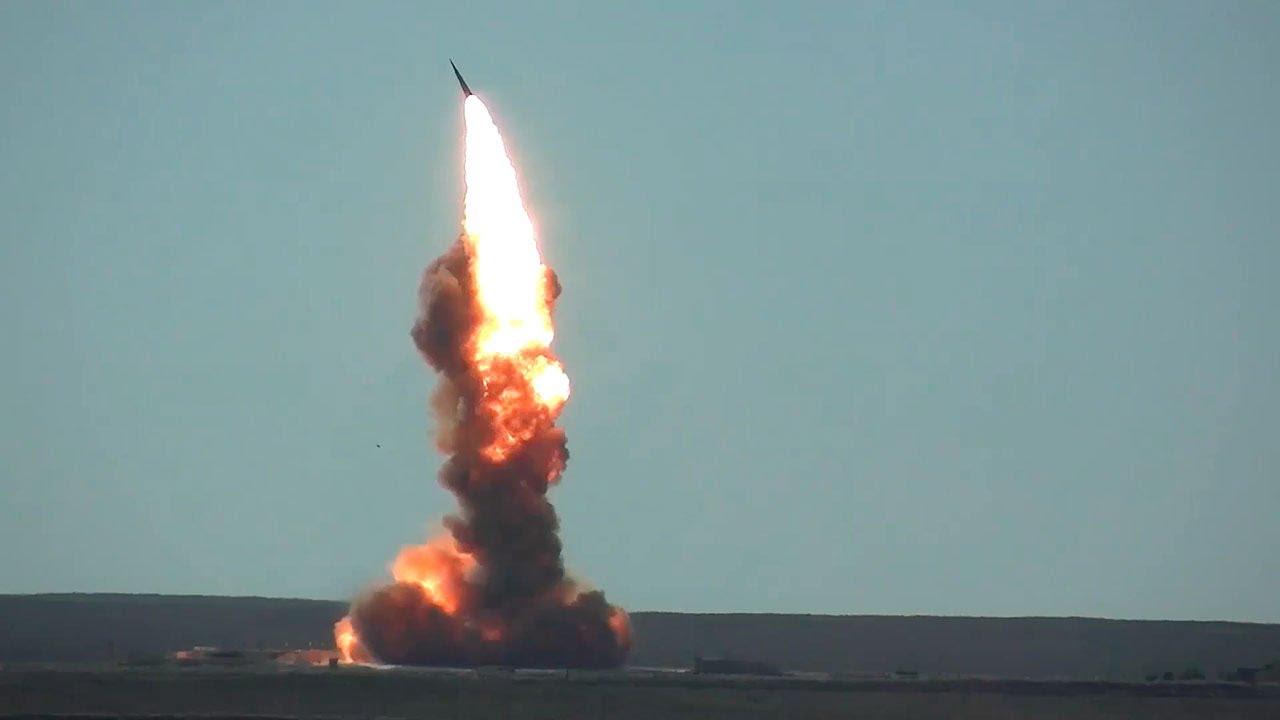 ВКС РФ запустили новую противоракету системы ПРО