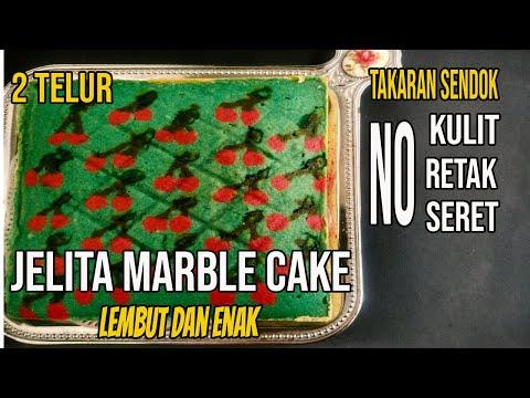 jelita-marble-cake-●-bolu-marmer-tanpa-kulit,-tidak-retak,-tidak-seret