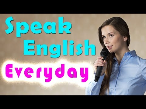 Speak English Everyday To Improve English ★ Learn English Listening Comprehension