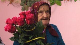 Найстарша мешканка Ценяви Катерина Томенчук відзначає 95-річчя