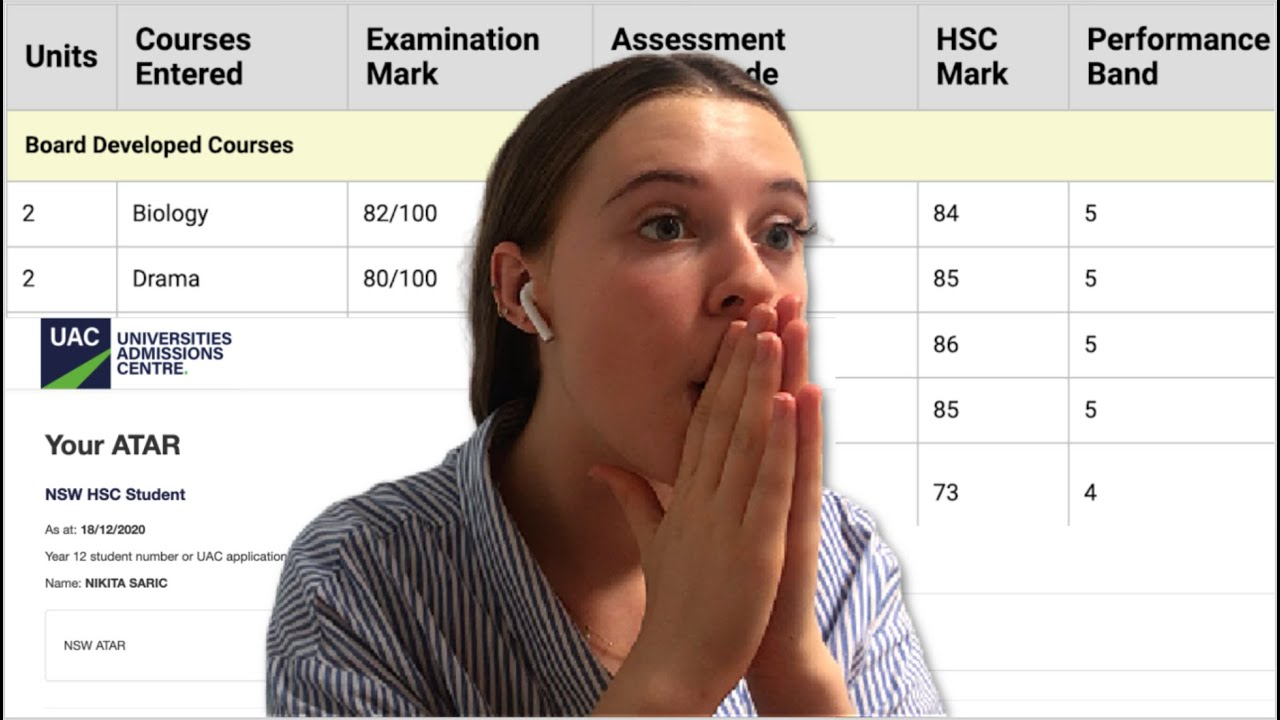 Download ATAR REACTION 2020! HSC school results