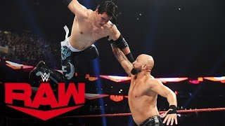Humberto Carrillo vs. Karl Anderson: Raw, Nov. 18, 2019