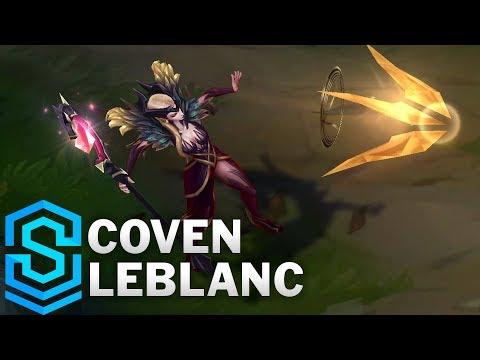 Coven LeBlanc Skin Spotlight - League of Legends