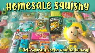 BELI SQUISHY SERBA WARNA KUNING! || Homesale Squishy #13
