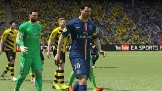 FIFA 15 Demo Gameplay PC #3 PSG - Borussia Dortmund