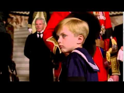 Prince John having a severe epileptic fit at his grandfather's funeral(from The Lost Prince)