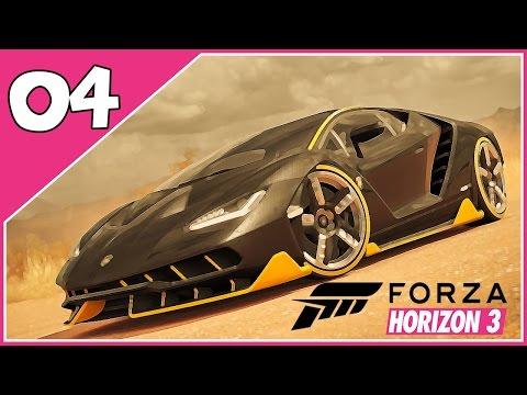 Forza Horizon 3 - #4- CORRIDA CONTRA O TREM!! - Dublado PTBR