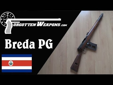Costa Rican Breda PG: The First Burst-Fire Rifle