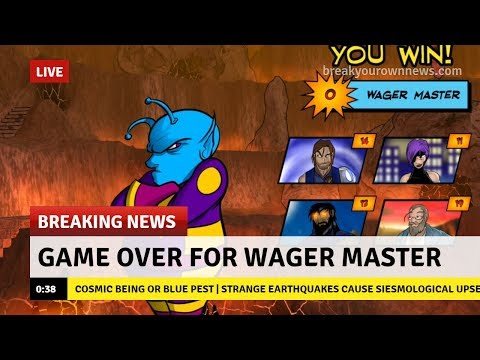 Game Over for Wager Master - Sentinels of the Multiverse: The Video Game |