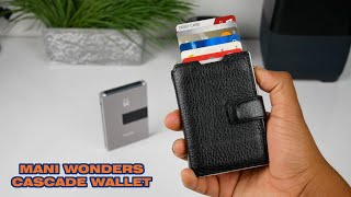 Is this the future of wallets? | Mani Wonders Cascade Wallet