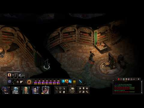 Pillars of Eternity II Stealthily Stealing Books from the Forgotten Sanctum Archives Part 2 |