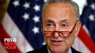 WATCH: Minority leader Chuck Schumer, other Democratic senators hold a news conference