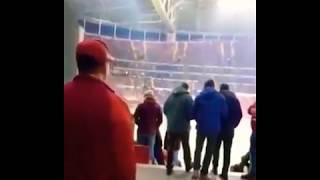 ilk defa Galatasaray maçına gelen gurbetci taraftar