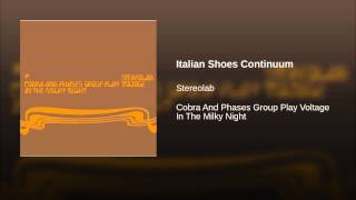 Italian Shoes Continuum