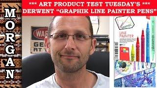 Derwent Graphik Line Painter Pens Review by Jason Morgan Art
