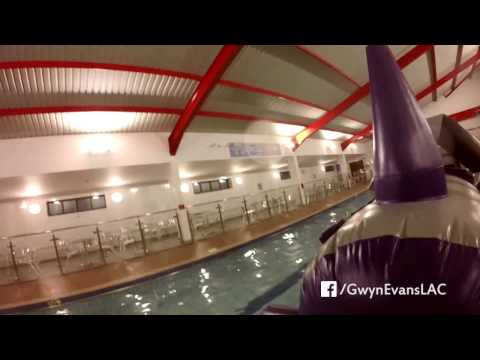 Gwyn Evans Leisure & Activity Centre pool inflatable