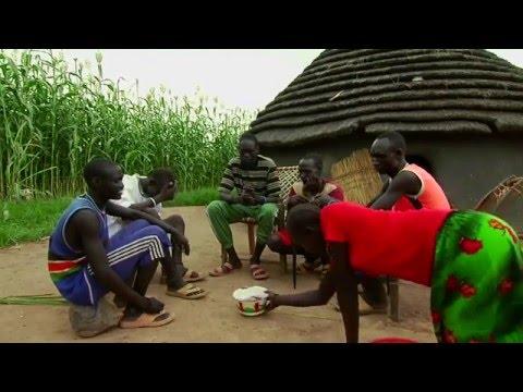 The Dinka tribe  قبائل الدينكا