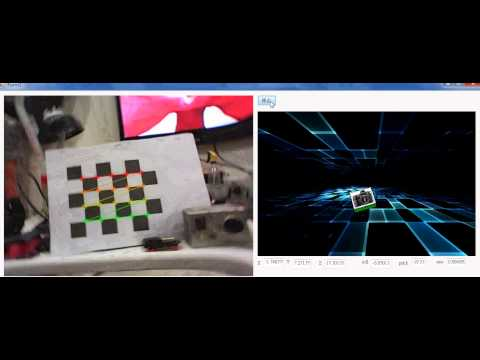 [emug cv]camera calibration & attitude-position estimation