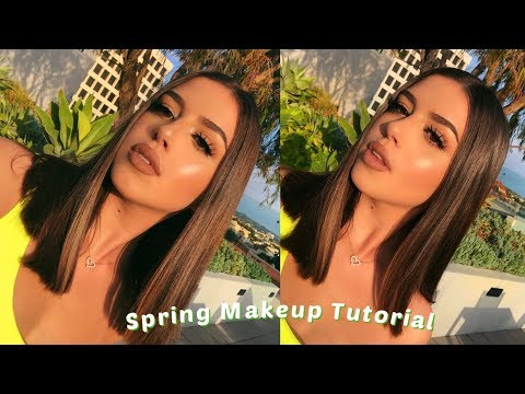 Spring Makeup Tutorial | Amanda Diaz thumbnail
