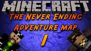 The Never Ending Adventure Map w/ Cavemanfilms Part 1